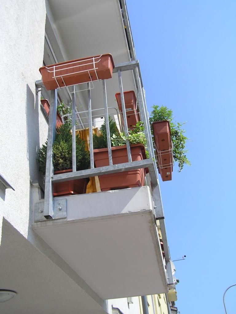 Detail uložení balkónové konzoly