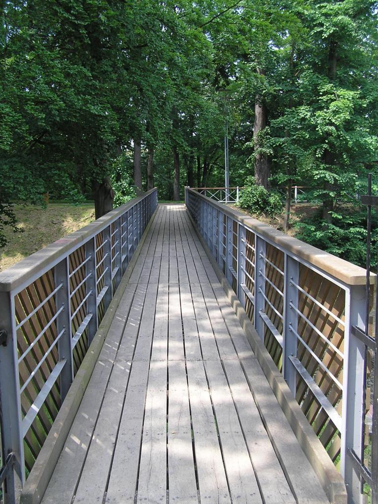 Pohled na mostovku